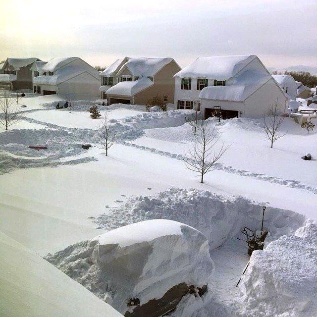 Buffalo, la città ideale per ogni freddofilo e nevofilo.