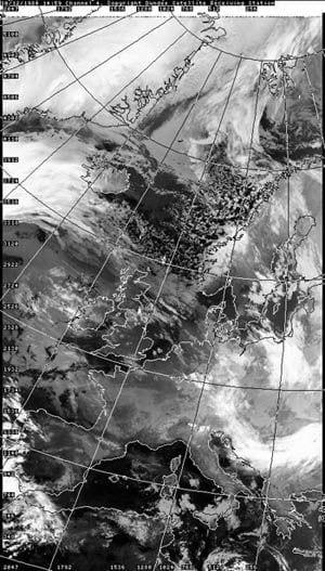 Immagine sat del 10 dicembre 1984. Fonte Università di Dundee.