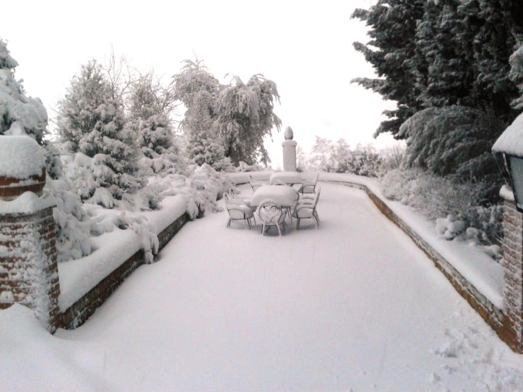 imminente nevicata