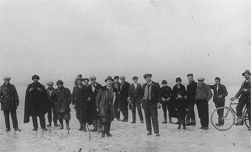Il Po ghiacciato Febbraio 1929