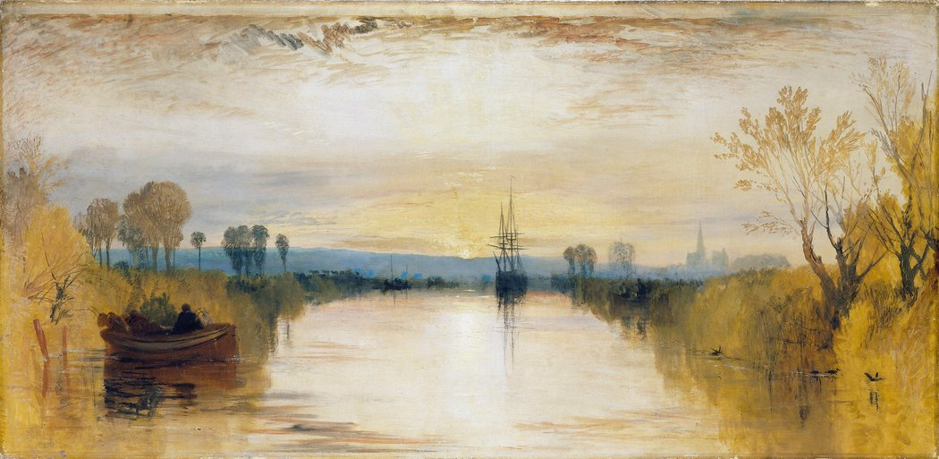 William Turner Chichester Canal 1828