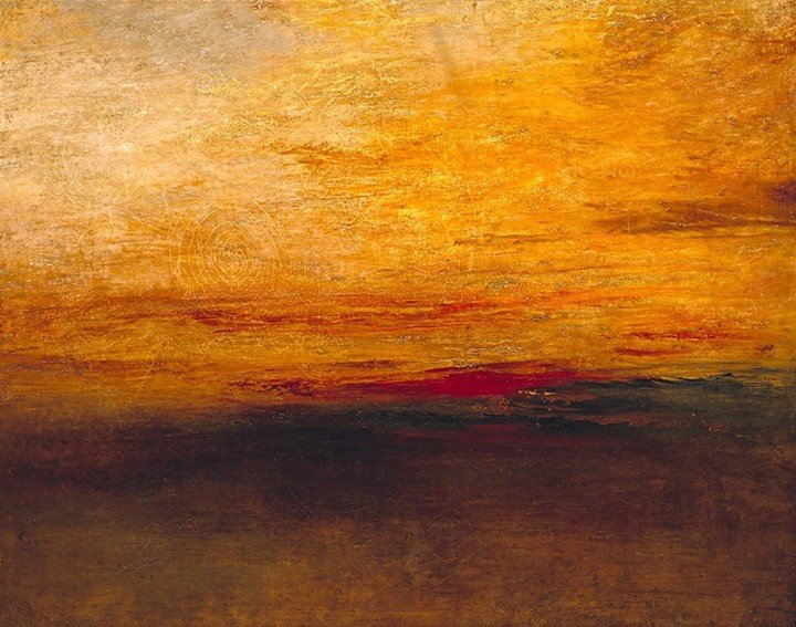William Turner Sunset 1835