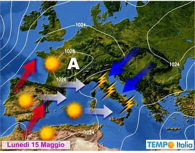 Il meteo di Brescia e provincia per martedì 16 maggio 2017