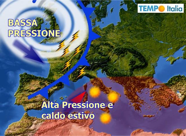 METEO ~ RAID temporalesco grandinigeno da Venerdì 19 al Nord